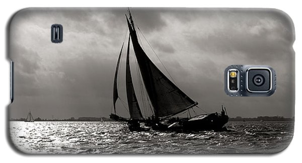 Black Sail Sunset Galaxy S5 Case