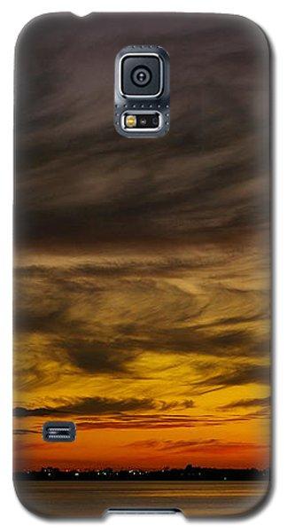 Black Sunset Galaxy S5 Case
