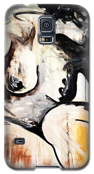 Black Tears Galaxy S5 Case by Helen Syron