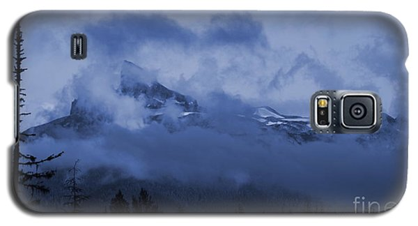 Black Tusk Mountain Galaxy S5 Case