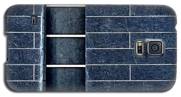 Black Wall Galaxy S5 Case by Julie Gebhardt