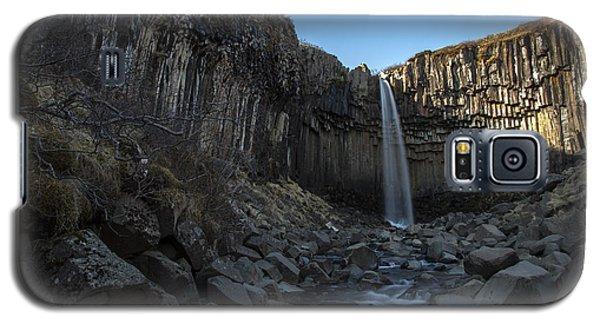 Black Waterfall Galaxy S5 Case