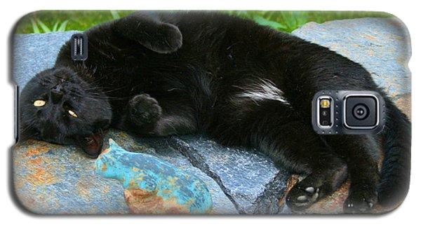 Blackjack Posing Galaxy S5 Case