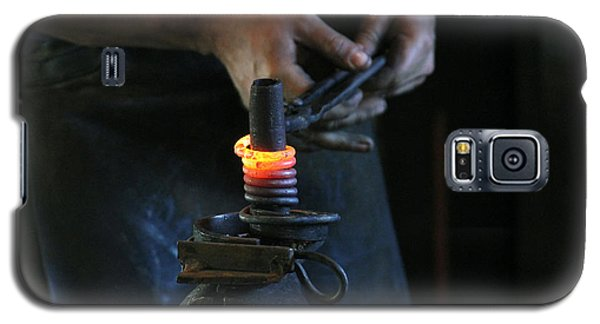 Blacksmith At Work Galaxy S5 Case