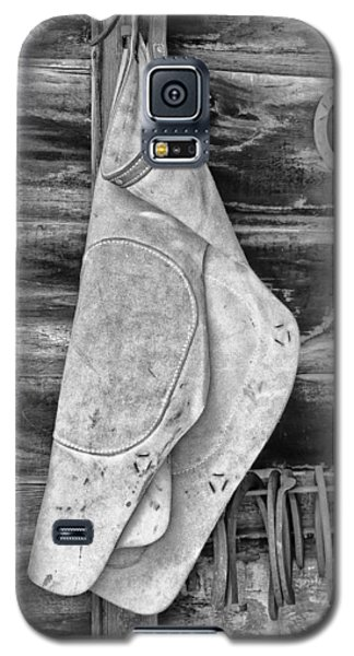 Galaxy S5 Case featuring the photograph Blacksmith Equipment by Gary Slawsky