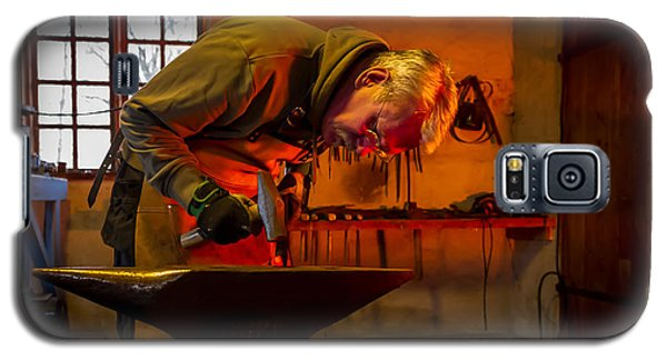 Blacksmith In Torresta Galaxy S5 Case by Torbjorn Swenelius