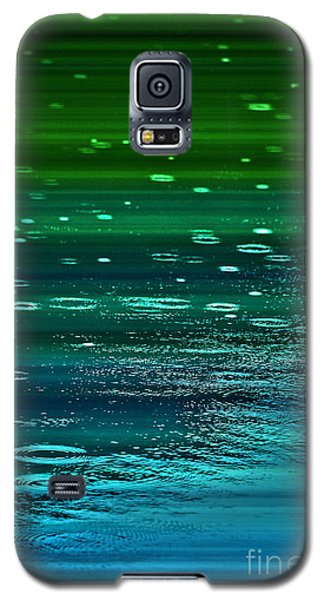 Galaxy S5 Case featuring the photograph Blame It On The Rain by Cynthia Lagoudakis