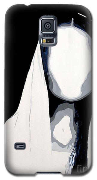 Galaxy S5 Case featuring the painting Blank by Denise Deiloh