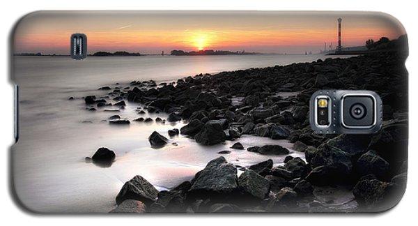 Blankenese Sunset Galaxy S5 Case