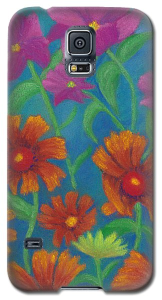 Blanket Flowers And Cosmos Galaxy S5 Case