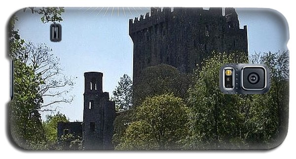 Fantasy Galaxy S5 Case - Blarney Castle Where You Must Kiss The by Teresa Mucha