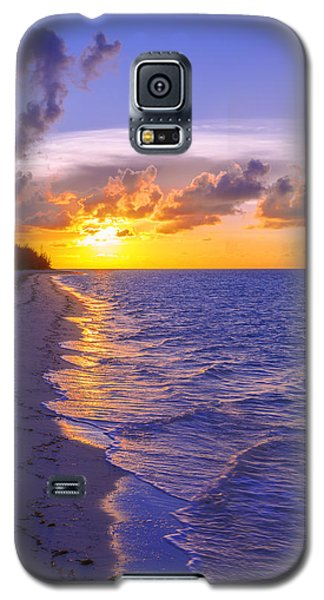 Blaze Galaxy S5 Case by Chad Dutson