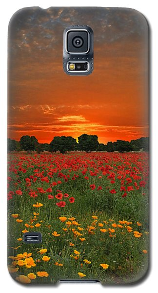 Blaze Of Glory Galaxy S5 Case
