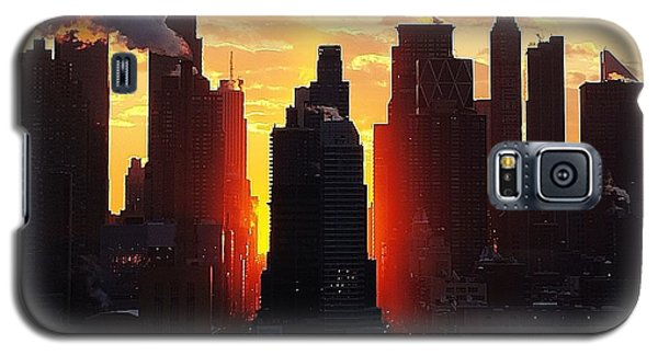 Blazing Morning Sun Galaxy S5 Case