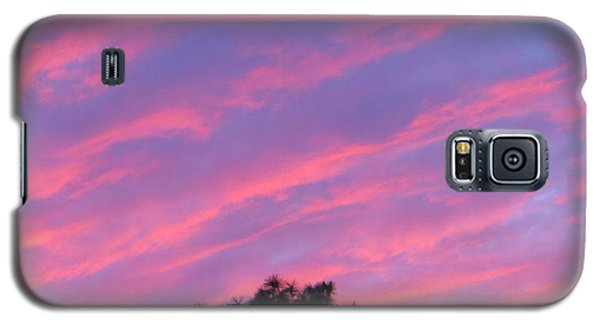 Galaxy S5 Case featuring the photograph Blazing Pines by Joy Hardee