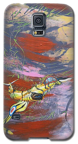 Blazing Starfighter Galaxy S5 Case