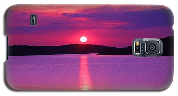 Blazing Sunset Galaxy S5 Case