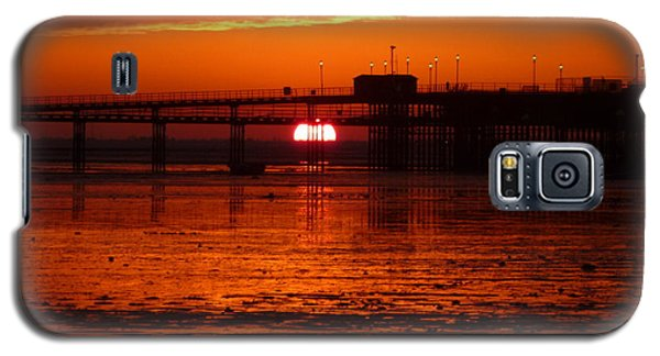 Blazing Sunset Galaxy S5 Case by Vicki Spindler