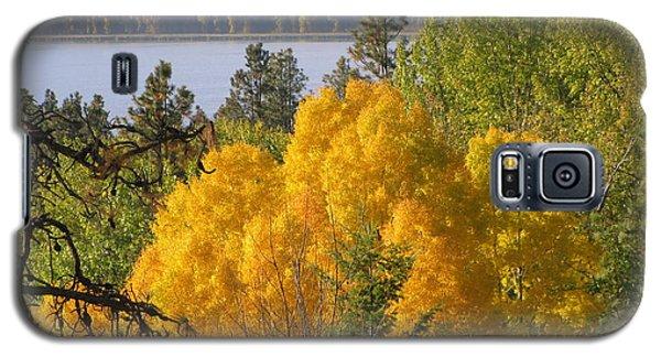 Blazing Yellow Galaxy S5 Case