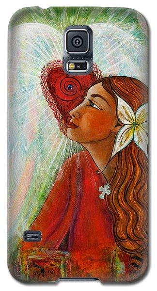 Blessed Visit  Galaxy S5 Case by Deborha Kerr