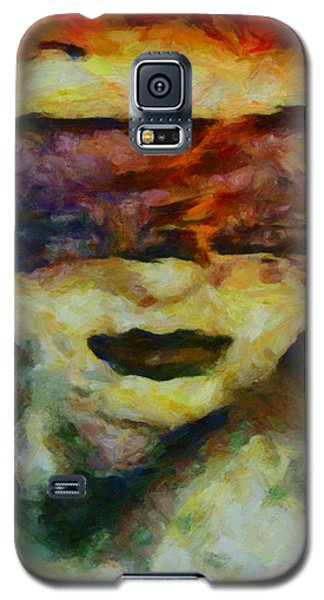 Galaxy S5 Case featuring the digital art Blinded By Sorrow by Joe Misrasi