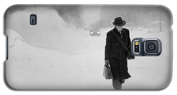 Blizzard On Park Avenue Galaxy S5 Case