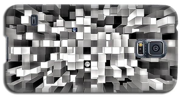 Blocked Space Galaxy S5 Case
