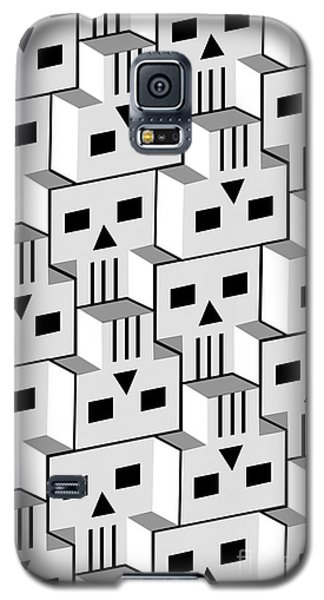 Blockheads Galaxy S5 Case by Gregory Dyer