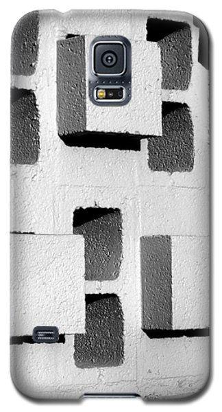 Galaxy S5 Case featuring the photograph Blocks by Jeff Brunton