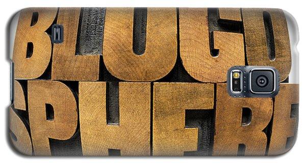 Blogosphere  Galaxy S5 Case