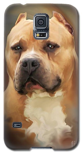 Blond Pit Bull By Spano Galaxy S5 Case