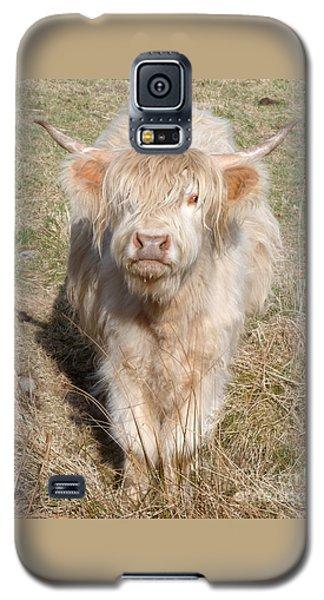 Blonde Highlander Galaxy S5 Case