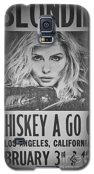 Blondie At The Whiskey A Go Go Galaxy S5 Case by Mitch Shindelbower