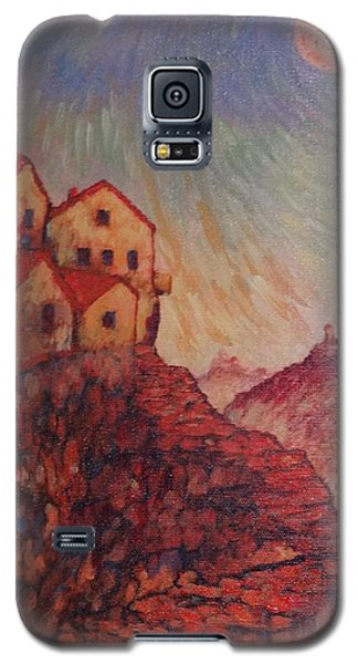 Galaxy S5 Case featuring the painting True Self Verses Ego False Self by Charles Munn