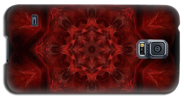 Galaxy S5 Case featuring the digital art Blood Of Me by Rhonda Strickland