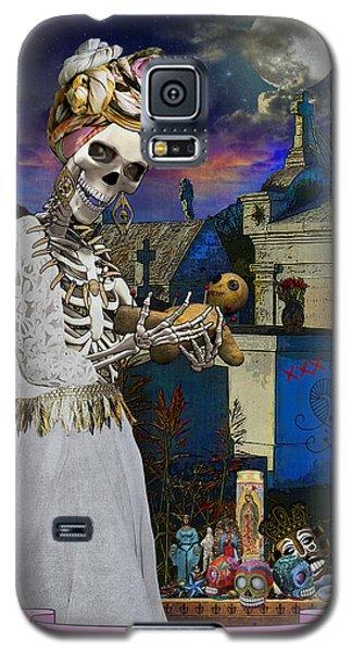 Bloody Marie Laveau Galaxy S5 Case by Tammy Wetzel