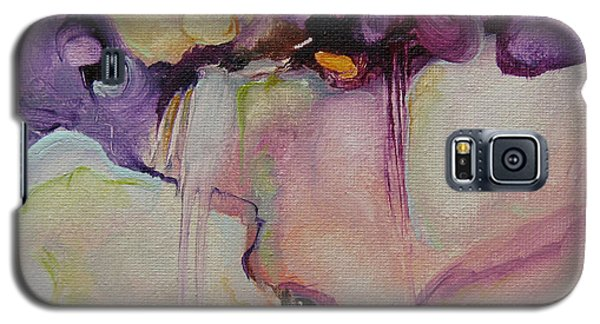 Galaxy S5 Case featuring the painting Bloom 103 by Elis Cooke