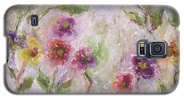 Galaxy S5 Case featuring the painting Bloom by Mary Wolf