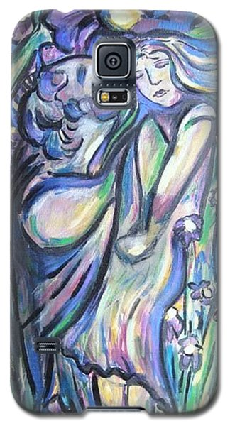 Galaxy S5 Case featuring the painting Bloomed by Dawn Fisher