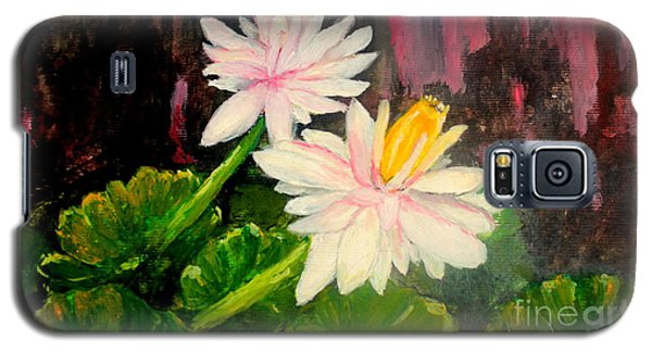 Blooming At Night  Galaxy S5 Case