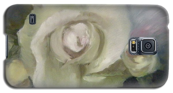 Galaxy S5 Case featuring the painting Blooming Beautiful by Lori Ippolito