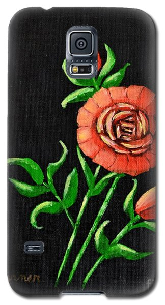 Galaxy S5 Case featuring the painting Blooming Buds by Melvin Turner