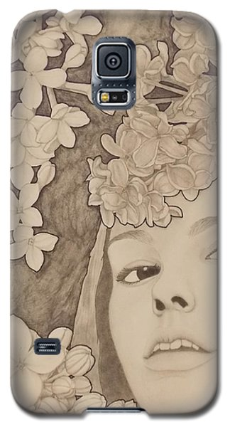 Blooming Girl Lilac  Refined Galaxy S5 Case
