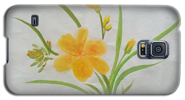 Blooming Lily Galaxy S5 Case