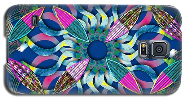 Blooming Mandala 6 Galaxy S5 Case