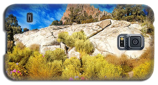 Blooming Nevada Desert Near Ely Galaxy S5 Case