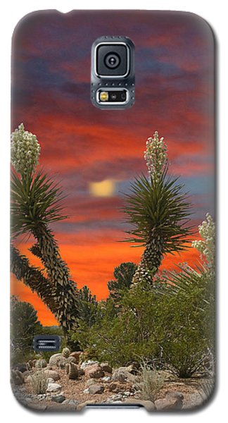 Full Blooming Yucca Galaxy S5 Case