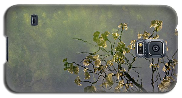Galaxy S5 Case featuring the photograph Blossom Reflection by Marilyn Wilson