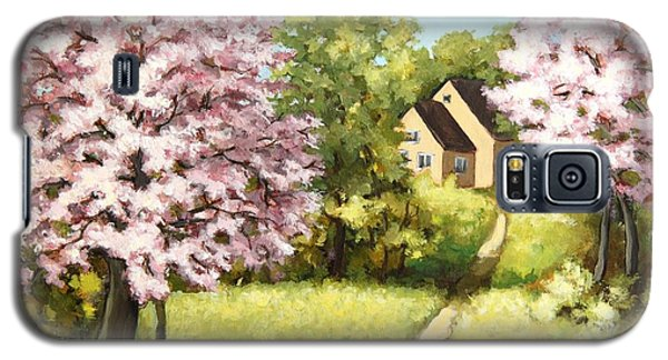 Blossoming Orchard Galaxy S5 Case