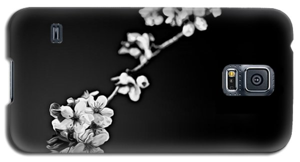 Galaxy S5 Case featuring the photograph Blossoms In Black And White by Joshua Minso